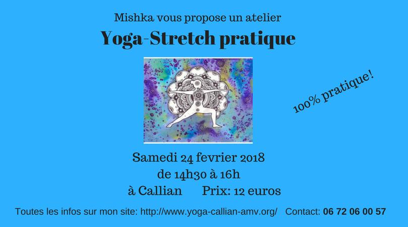 Yoga stretch pratique
