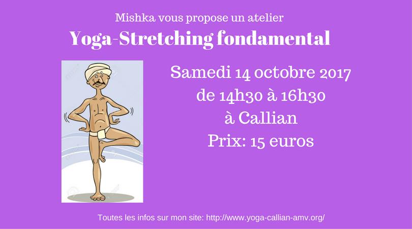 Yoga stretching fondamental 1